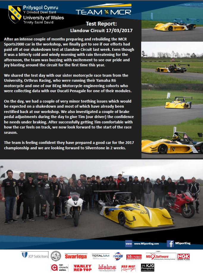 Llandow Report